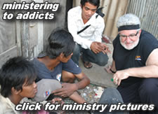 Ministering to addicts
